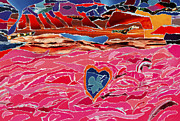  With Acrylics Mixed Media - River Of Passion by Kenneth James
