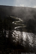 River Of Silver Print by Charles Warren