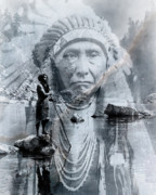Chief Joseph Posters - River of Sorrow Poster by Kathleen Holley
