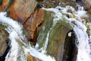 Gatlinburg Tennessee Prints - River Power Dashed Upon The Rocks Print by Susie Weaver