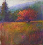 Hope Pastels Prints - River Road Above New Hope Print by Susan Williamson