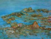 Stein Paintings - River Rocks by Carla Stein