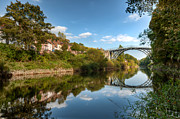 Iron Bridge Prints - River Severn Print by Adrian Evans