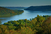 Fall Cards Prints - River View II Print by Steven Ainsworth