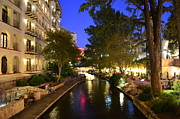 Del Rio Texas Framed Prints - River Walk 2 Framed Print by David Morefield