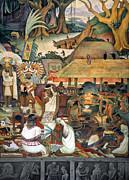 Rivera: Pre-columbian Life Print by Granger