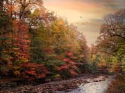 Riverbank Beauty Print by Jessica Jenney