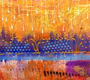 Riverfront View Print by Angela L Walker