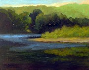 Walking Birds Originals - Riverside in Raubsville by Kit Dalton