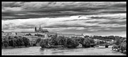 Prague Castle Framed Prints - Riverview Framed Print by Jason Wolters