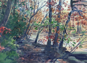 Wooded Originals - Riverwalk by Donald Maier