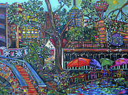 Texas Art - Riverwalk by Patti Schermerhorn