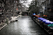 San Antonio River Walk Framed Prints - Riverwalk Framed Print by Shane Rees