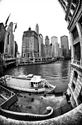 Riverwalk Photo Prints - Riverwalk View Print by John Rizzuto