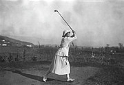 Sports Clothing Prints - Riviera Golf Print by J W Brooke