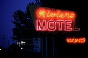Stop Sign Photos - Riviera Motel by Odd Jeppesen