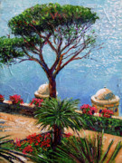 Plein Air Art - Riviera Plein Air by David Lloyd Glover