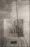 National Drawings Prints - Rizal-full and detail 1966-67 Print by Glenn Bautista