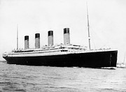 Titanic Photos - RMS Titanic by War Is Hell Store