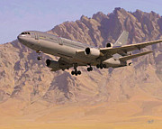 Rnlaf Kdc10 In Afghanistan Print by Nop Briex