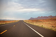 Grand Canyon National Park Photos - Road by Elena Fantini