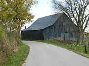 Barn Yard Prints - Road Home Print by William Kersey