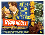 Films By Jean Negulesco Prints - Road House, Ida Lupino, Richard Print by Everett