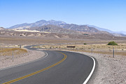 Crook Photos - Road Through Death Valley by Jaak Nilson