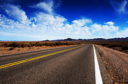 Asphalt Photos - Road Through Rural Area by Jacobs Stock Photography