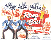 Crosby Photos - Road To Bali, Bing Crosby, Bob Hope by Everett