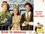 Crosby Photos - Road To Morocco, Bob Hope, Dorothy by Everett