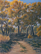 Grande Paintings - Road to Rio Grande by James Fieldson