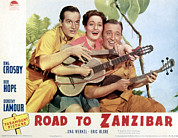Crosby Photos - Road To Zanzibar, Bob Hope, Dorothy by Everett
