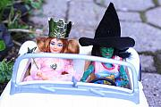 Wicked Witch Of The West Prints - Road Trip Print by Susie DeZarn