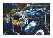Buick Paintings - Roadmaster by Mike Hill