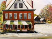 Farm Stand Painting Prints - Roadside Market Print by John  Williams
