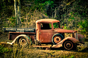 Old Pickup Photos - Roadside Opportunity  by Connie Cooper-Edwards