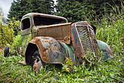 Antique Automobiles Art - Roadside Panhandler by Wayne Stadler