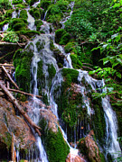 Colorado Stream Prints - Roadside Waterfall Print by Ken Smith