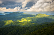 Western Nc Framed Prints - Roan Mountain Highlands Eastern TN - Shadows and Light Framed Print by Dave Allen