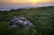 Mountain Photographs Prints - Roan Mountain Highlands Sunrise - Appalachian Trail Scenic Landscape Print by Rob Travis