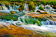 Montana Prints - Roaring Rapids Print by Joshua Dwyer