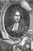 1876 Framed Prints - Robert Boyle, Anglo-irish Chemist Framed Print by