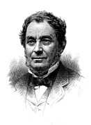 Bunsen Burner Prints - Robert Bunsen, German Chemist Print by Science Source