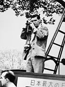 Journalist Framed Prints - Robert Capa (1913-1954) Framed Print by Granger