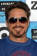 Robert Downey Jr. Prints - Robert Downey Jr. At Arrivals For 2009 Print by Everett
