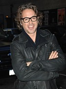 Paparazziec Photo Prints - Robert  Downey Jr. At Talk Show Print by Everett