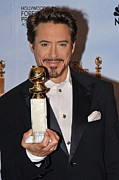 The 67th Annual Golden Globes Awards - Arrivals Posters - Robert Downey Jr. In The Press Room Poster by Everett