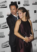 Award Prints - Robert Downey Jr., Susan Downey Print by Everett