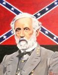 Robert E Lee Paintings - Robert E. Lee by Robert Link